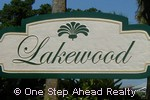 sign for Lakewood