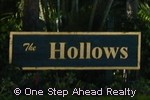 sign for The Hollows