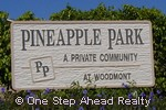 sign for Pineapple Park