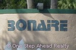sign for Bonaire Village