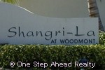 sign for Shangri La