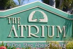 sign for The Atrium