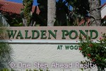 sign for Walden Pond